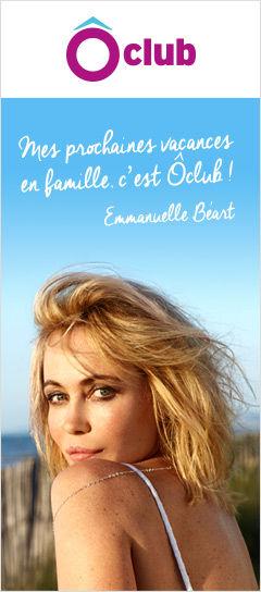 Emmanuelle Béart Ambassadrice des Ôclubs