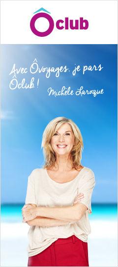 Michèle Laroque Ambassadrice des Ôclubs