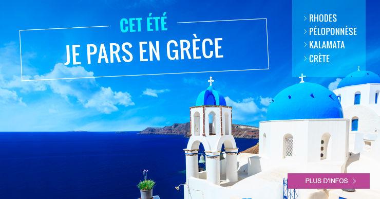 Voyages et vacances spécial Grêce