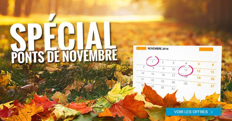 Thalasso et spa : relaxez-vous à l'occasion des ponts de novembre