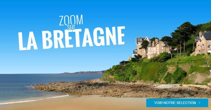 Zoom sur la Bretagne