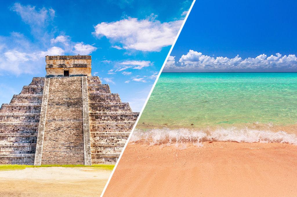 Circuit 100% Yucatan avec extension au Blue Bay, vacances Mexique Cancun 1