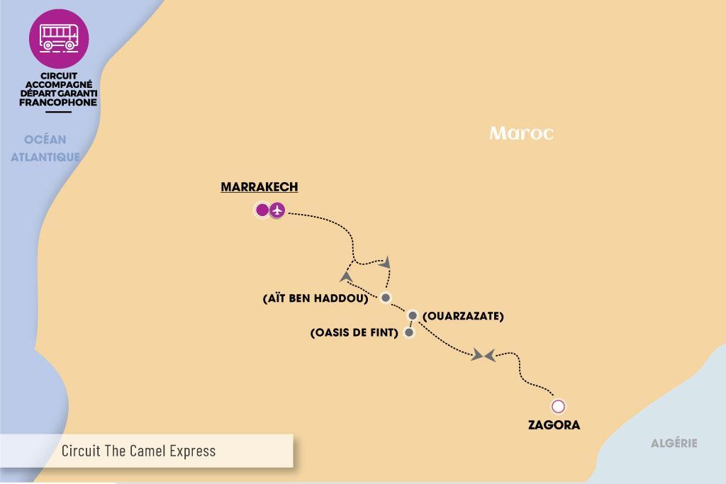 Maroc - Circuit The Camel Express